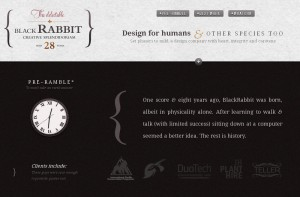 The Black Rabbit Creative Splendidoriam